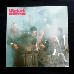"""WARLOCK """"Hellbound"""" LP..."""