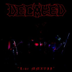 "DECAYED ""Live MMXVII"" CD"