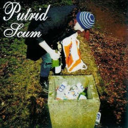 """PUTRID SCUM """"Putrid Scum"""" CD"""