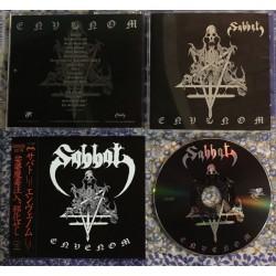 "SABBAT ""Envenom"" CD + OBI"