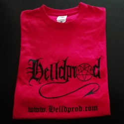 HELLDPROD - T-Shirt (RED)