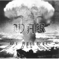 "War (Swe) ""We Are War"" LP"