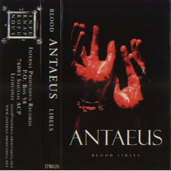 "Antaeus ""Blood Libels"" Tape"