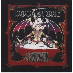 "Doomstone ""Satanavoid"" CD"