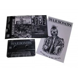 "Warbombs ""Debut Ep 2015"" Tape"