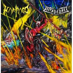 Harpago / Antroforce Split CD