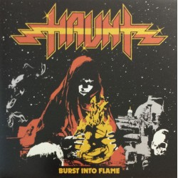 "HAUNT ""Burst Into Flame"" CD"